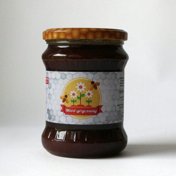 Miód gryczany 600g