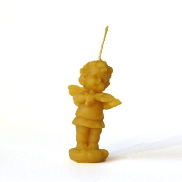 Świeca - Aniołek ze skrzypkami