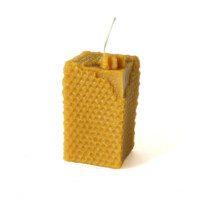 Świeca - słupek z pszczołą